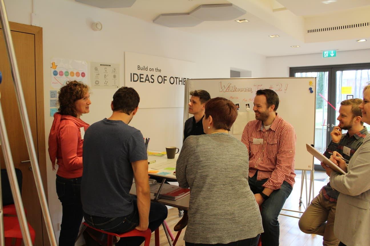 persone consulenza design thinking